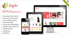 Deals Styler - 100% Responsive Magento Themelowest price for you. In addition you can compare price with another store and read helpful reviews. Buy