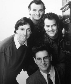 A gallery of Ghostbusters II publicity stills and other photos. Featuring Dan Aykroyd, Bill Murray, Harold Ramis, Ernie Hudson and others. Ghostbusters Game, Original Ghostbusters, Extreme Ghostbusters, Love Film, Love Movie, 80s Movies, Film Movie, Ernie Hudson, Robert Mcginnis