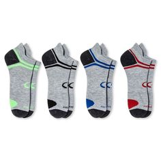 0c255be86977 C9 Champion Men s 3+1 Bonus Pack Odor Control Ankle Socks - Gray 6-