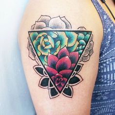 10 Awesome Succulent Tattoo Ideas For People Who Are Crazy About Succulents