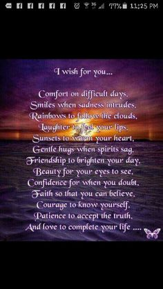 Comfort Believe In You, My Wish For You, Good Advice, Beautiful Words, Thoughts, Native American, Pray, Sayings, Ava Gardner