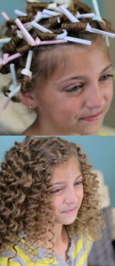 Corkscrew Curls: I love this look.
