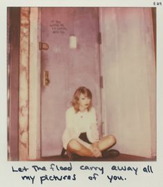 Taylor Swift Polaroid 24 - Clean #1989