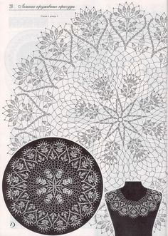 Crochet lace collar pattern free knitting ideas for 2019 Filet Crochet, Crochet Art, Crochet Home, Thread Crochet, Vintage Crochet, Free Crochet Doily Patterns, Crochet Doily Diagram, Crochet Motif, Crochet Doilies