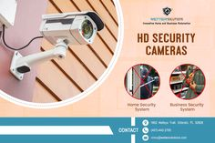 Get wide range of HD Security Cameras in Orlando along with installation service from Wetter Solutions. They deal with various CCTV brands and have numerous security camera models in different price range.