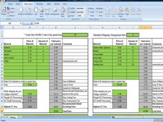 Pricing Template for Etsy Sellers, Excel Spreadsheet includes Etsy & Paypal Fees Built into Pricing LOVE THIS! I got the whole kit