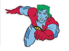 Captain Planet, He's our hero.  Gonna take pollution down to zero!