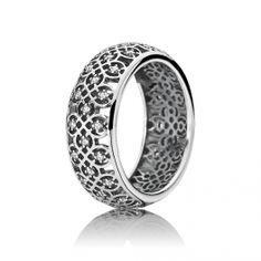 Pandora Intricate Lattice Bond Ring