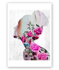 Flower Built Art Print