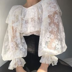 Classy Outfits, Pretty Outfits, Cool Outfits, Summer Outfits, Aesthetic Fashion, Aesthetic Clothes, Look Girl, Floral Lace, Mantel