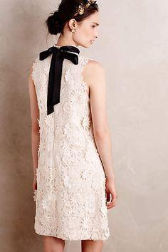 Ribboned Fleur Dress - anthropologie.com