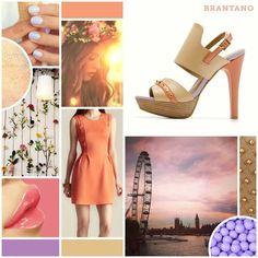 Refresca tu día con este conjunto de inspiración en nuestros High Vamps Beige http://www.brantano.com.mx/producto/863-high-vamps-beige-napa.aspx #moda #estilo #heels #zapatos #mujer #chic