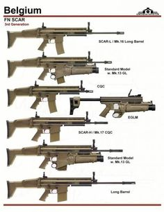 SCAR weapons family.