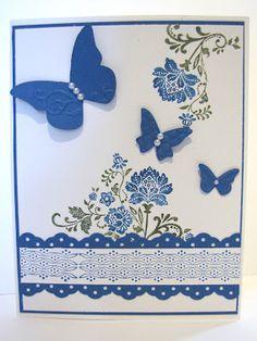 fresh vintage butterflies