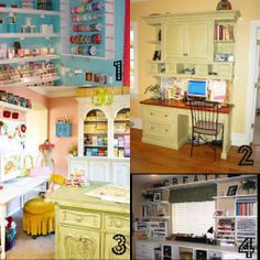 Great collection of craft rooms here