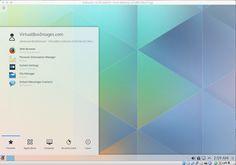 Kubuntu 15.04 Default Desktop. Kubuntu 15.04 using Plasma5 Desktop the next generation of KDE.