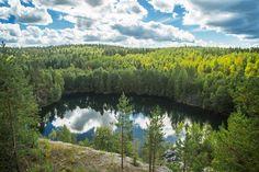 Photograph Ruskeala by Alexey Mhoyan on Wallpaper Stickers, Wall Sticker, Finland, Firebird, Russia, Photograph, Wallpapers, Outdoor, Photography