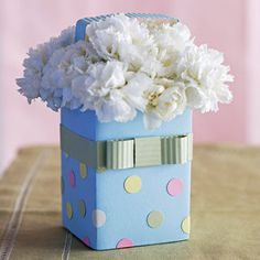 Caixa de leite como vaso de flor #DIY