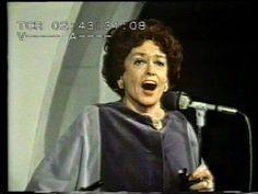 Zarah Leander sings Wunderbar in 1977 - YouTube