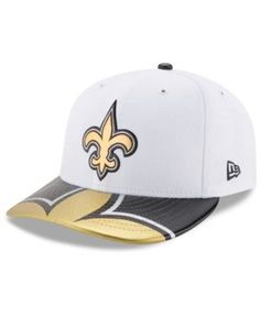 New Era New Orleans Saints Low Profile 2017 Draft 59FIFTY Cap - Black 7 5/8