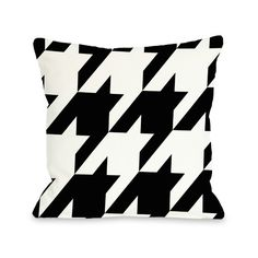Found it at AllModern - Molly Oversized Houndstooth Throw Pillow