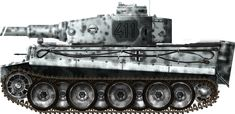 Tiger Ausf E 1st s SS Panzergrenadiers Kharkov february 1943
