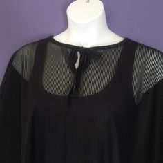 **Just In** Mesh Swimsuit Coverup NWOT - This mesh coverup is perfectly paired with your swimsuit.  Never worn.  Size: One Size for a plus-size woman Accessories
