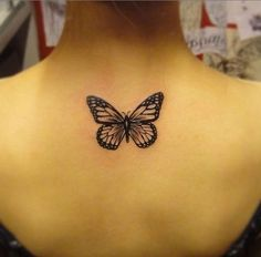 Image result for black and grey realistic butterfly tattoos