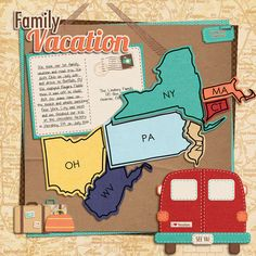 Layout: Family Vacation