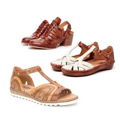 Boho chic, Pikolinos is your staple footwear for this summer.  Made in Spain.