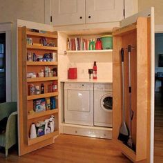 shelving in doors