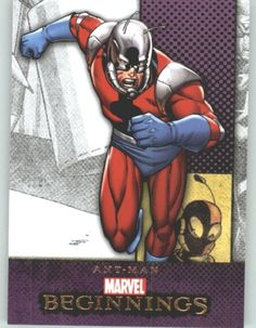 Marvel Beginnings #317 Ant-Man (Non-Sport Comic Trading Cards)(Upper Deck - 2012 Series 2) @ niftywarehouse.com #NiftyWarehouse #Geek #Gifts #Collectibles #Entertainment #Merch