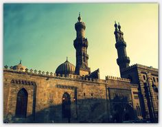 Al-Azhar Mosque, Islamic Cairo, Egypt