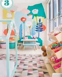 Thank you @adoremagazine for including our playroom project in your beautiful family issue. In newsagents tomorrow or order your copy online now @vellumstudios_steve