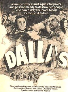 """""""All The Ingredients For A Great Show"""" - Dallas TV show promo from 1978"""