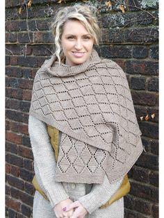 1000+ images about Knit Vest, Shawl & Wrap Patterns on Pinterest Knit p...