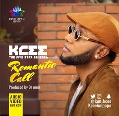 """The FIVE STAR MUSIC Honcho Kcee releases the Audio and Visual for his first single of 2017. This powerful single he Titled """"Romantic Call.""""  """"Romantic Call"""" is an addictive uptempo tune produced by talented sound engineer, Dr. Amir, mixed and mastered by Zeno Foster.   #Five Star Music #Music"""