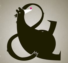 19 ampersand bear1 32 Beautiful Ampersand Design Inspirations