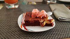 Red velvet brownie,,,una delicia!!!