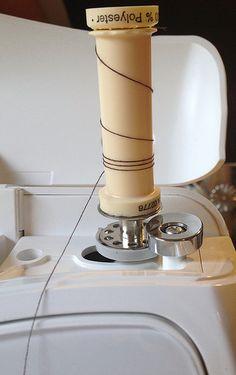 LOJA SINGER PORTO: Dicas de Costura - Encher Carrinho de Linhas