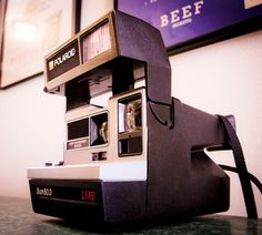 This was the shiz in it's day, the Polaroid camera.