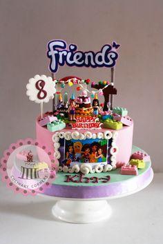 Birthday Ideas for Girl Elegant Pin by Halaa Baadarani On Lego Cake In 2019 Lego Friends Cake, Lego Friends Birthday, Lego Friends Party, Lego Birthday Party, Birthday Cake Girls, Birthday Ideas, Lego Parties, 10th Birthday, Lego Cake