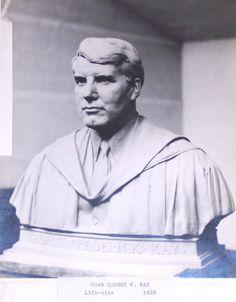 Dean George F. Kay, Stone sculpture by Harry E. Stone Sculpture, Dean, Art, Craft Art, Stone Carving, Kunst, Gcse Art, Art Education Resources