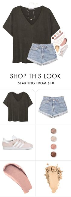 """""""New layout... yay or nay?"""" by southerngirl03 ❤ liked on Polyvore featuring MANGO, Levi's, adidas, Terre Mère, Burberry, L'Oréal Paris and Kendra Scott"""