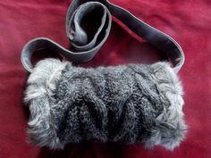 Muff-Handgearbeitet-Unikat von Cerrita Corium auf DaWanda.com