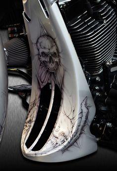Bagger Motorcycle, Motorcycle Style, Custom Cycles, Custom Bikes, Airbrush, Custom Street Glide, Custom Paint Motorcycle, Custom Baggers, Harley Davidson Street Glide