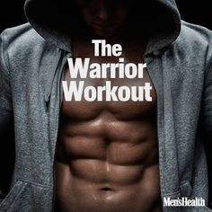 If you like to sweat, you're going to love the Warrior Workout. In this routine, you'll work for 60 seconds, while only resting for 20 seconds. That's a formula that will make your fat cells cry, light your muscles on fire, and send your heart rate soaring. And you only need a pair of light dumbbells to do it. So get ready for a fast-paced workout that will whip you into fighting shape. http://www.menshealth.com/fitness/warrior-workout?cid=soc_pinterest_content-fitness_aug14_warriorworkout