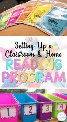 Setting up a classroom and home reading program. Includes tips and strategies to implement a reading program and how-to create reading folders with FREE parent hand-outs by Proud to be Primary. Reading Strategies, Reading Activities, Teaching Reading, Teaching Kids, Guided Reading, Student Reading, Children Reading, Teaching Resources, Ar Reading