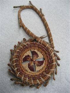 pine needle bracelets | Dates for pine needle basket workshop in Eugene at Harlequin Beads.