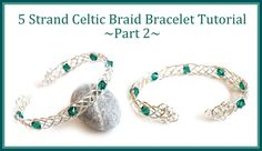Jewelry Tutorial : How to Make a Celtic Weave Bracelet PART 2